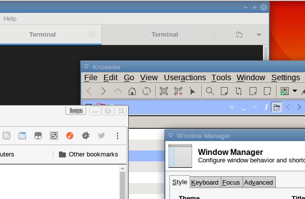 Panta's: Upgrading to Krusader 2 5 0 and KDE5 Plasma on Debian XFCE